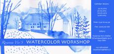 WATERCOLOR WORKSHOP  May-June 2013