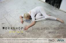 Performance art workshop with Agnes Nedreg�rd
