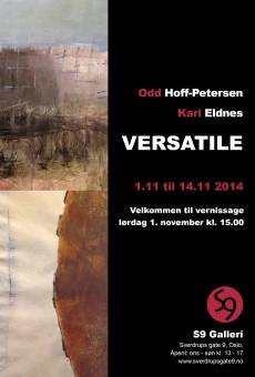 Kari Eldnes & Odd Hoff-Petersen / Vernissage l�rdag 1. november kl. 15